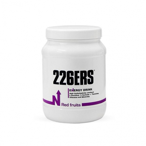226ERS ENERGY DRINK 500G RED FRUITS
