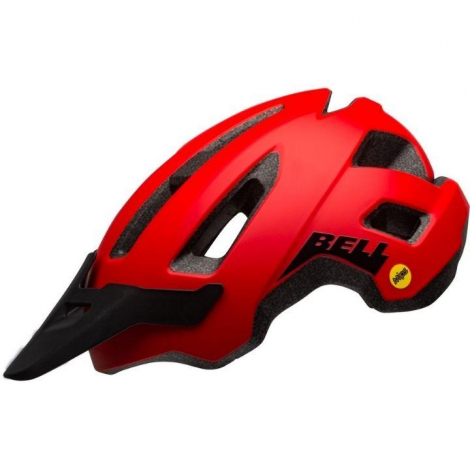 CAPACETE BELL BS NOMAD MIPS RED/BLACK